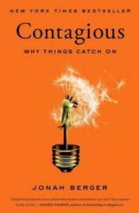 Contagious, Why Things Catch On– Jonah Berger(marketing strategy book)