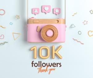 10k followers image for influencer marketing