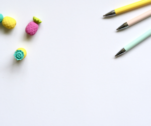 Pencils and erasers on a white background used to avoid a digital marketing mistakes
