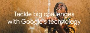 A screenshot of Googles non-profit